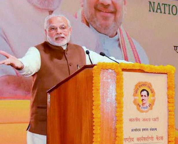 Note ban not for vote bank, says Modi