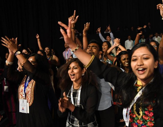 Guests from West Asia dominate diaspora event