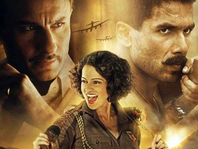 Was nervous about 'Rangoon': Shahid Kapoor
