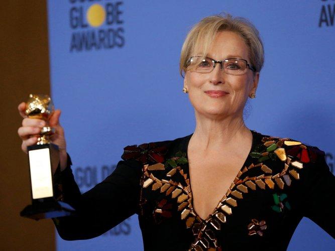 'La La Land' sweeps Golden Globes, Streep slams Trump