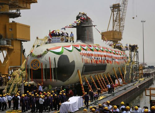 Second Kalvari class submarine Khanderi to be launched on Jan 12