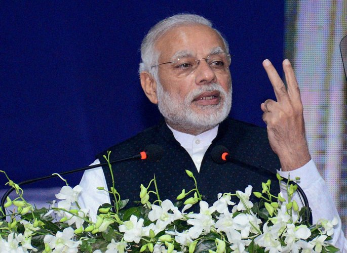 Modi inaugurates India's first int'l exchange at GIFT city