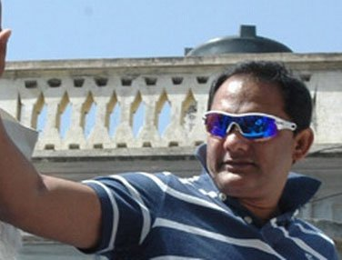 Mohd Azharuddin files nomination for HCA top job