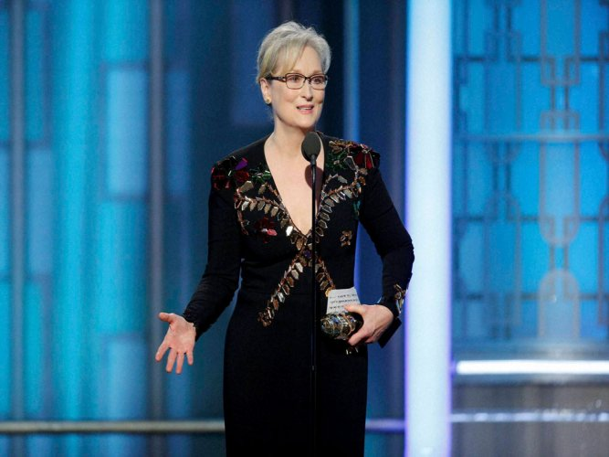Hollywood lauds Meryl Streep for her powerful speech at Globes