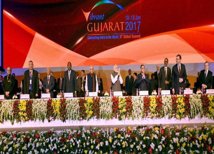 Global CEOs rain praises for Modi's policies