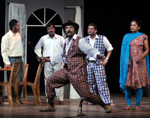 Ranga Nirantara to perform 25th show of 'Male Manthrika' today