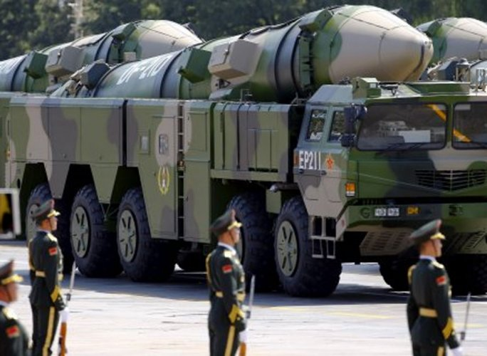 China's PLA held live drills with 100 ballistic missiles