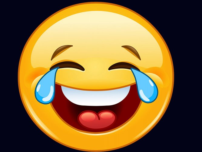 Face with tears of joy world's most popular emoji: study