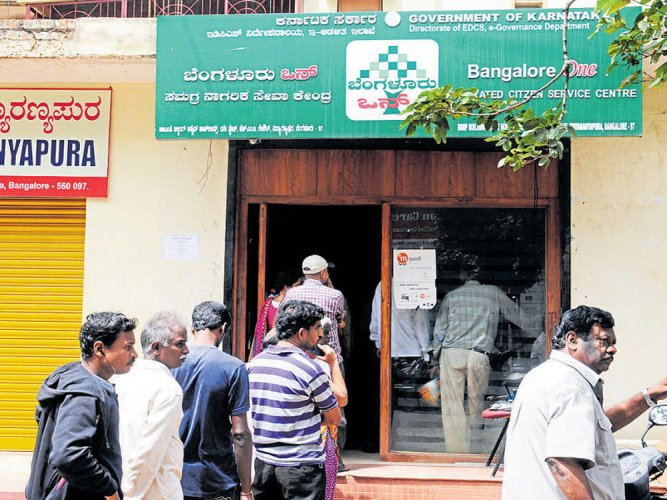 BangaloreOne centres to accept applications for RTE quota seats