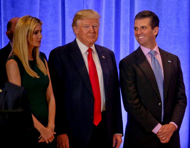 Trump admn to have 'Office of the First Family': report