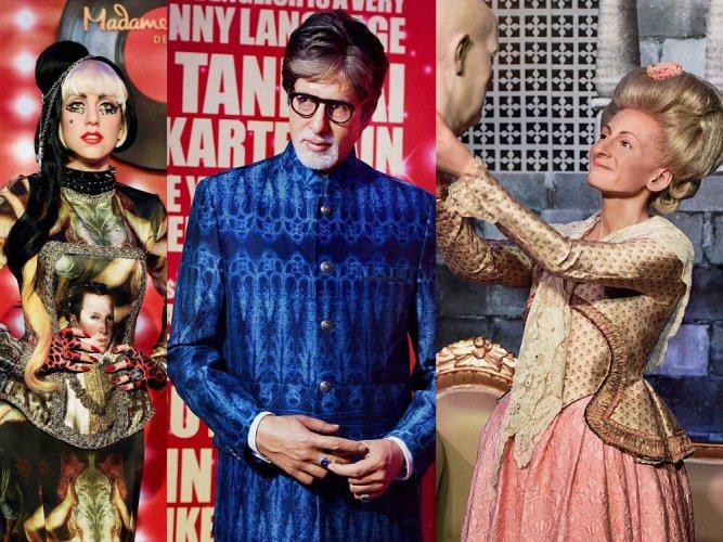 Delhi Tussauds to showcase Big B, Gandhi, Sachin, Lady Gaga