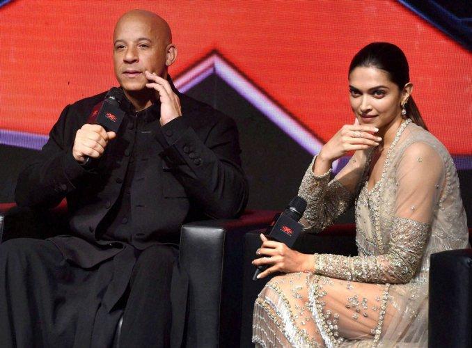 Vin Diesel, Deepika do 'lungi dance' on 'xXx' premiere