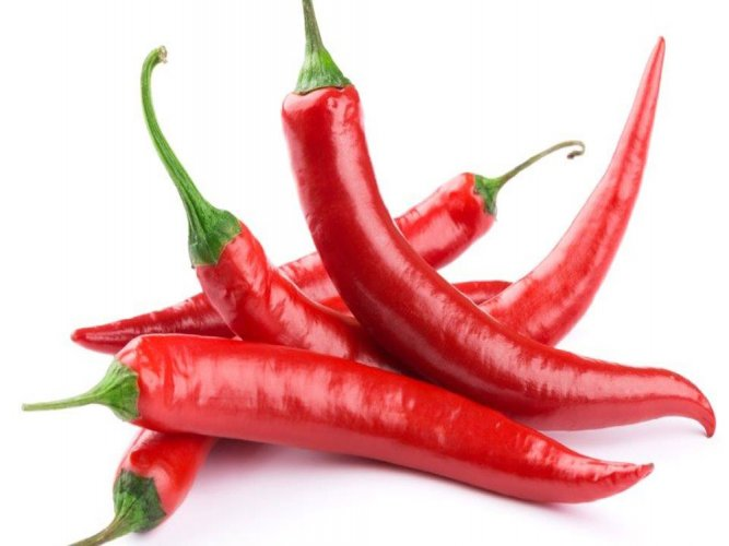 Eat hot chili peppers for a longer life!