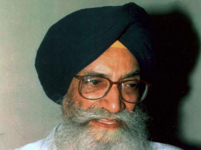 Surjit Singh Barnala passes away