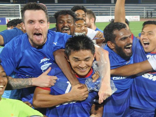 Substitutes secure 2-0 win for Bengaluru FC