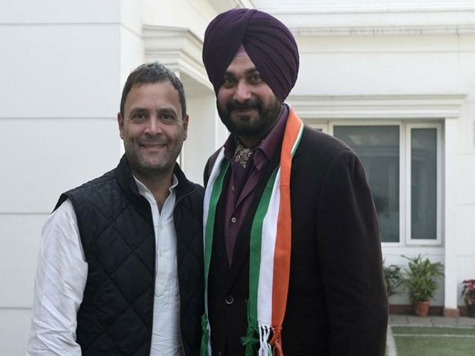 Sidhu joins Congress, likely to contest from Amritsar-East