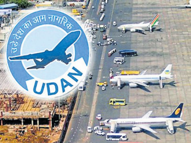 44 airports have potential for operations under UDAN: Report