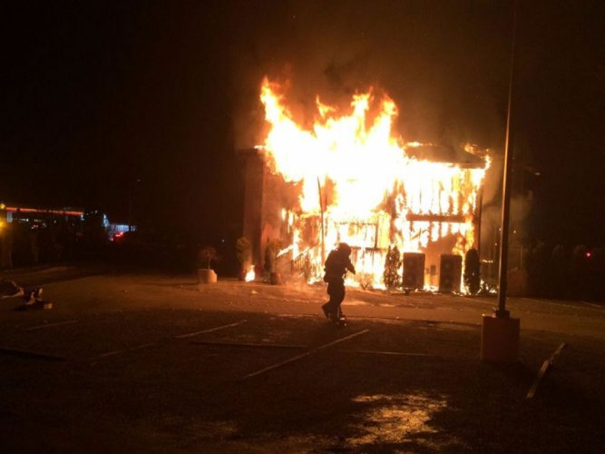 Mosque torched in US; homeless man arrested