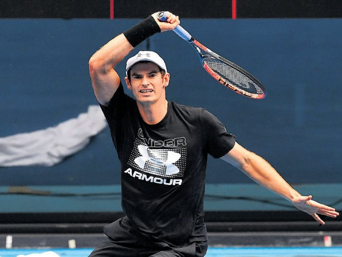 Murray, Serena the cynosure