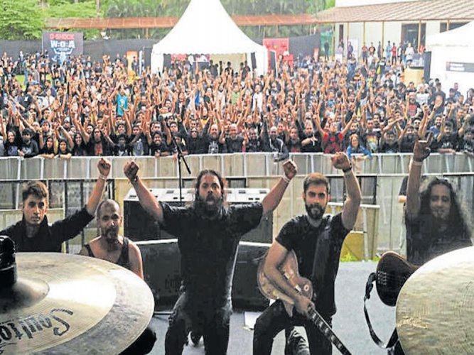 'There is a very healthy crowd for metal'