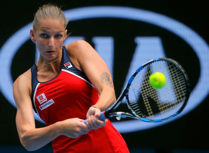 Pliskova plays down chances despite easy win