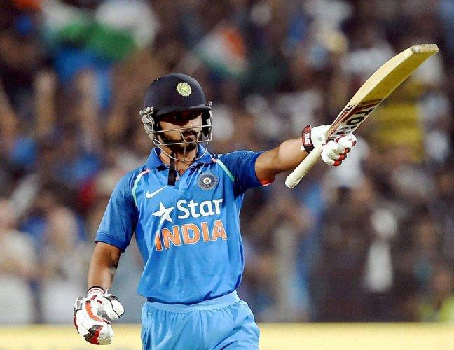 Got the benefit of batting alongside Kohli: Jadhav