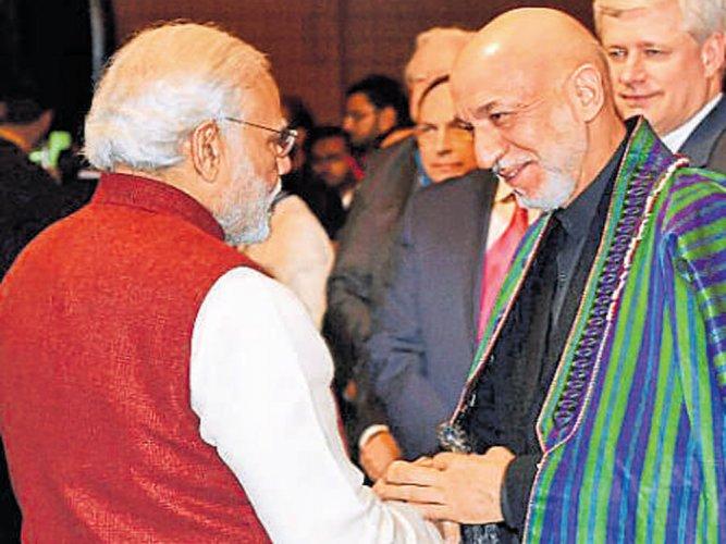 Modi asks Pak to stop terror acts