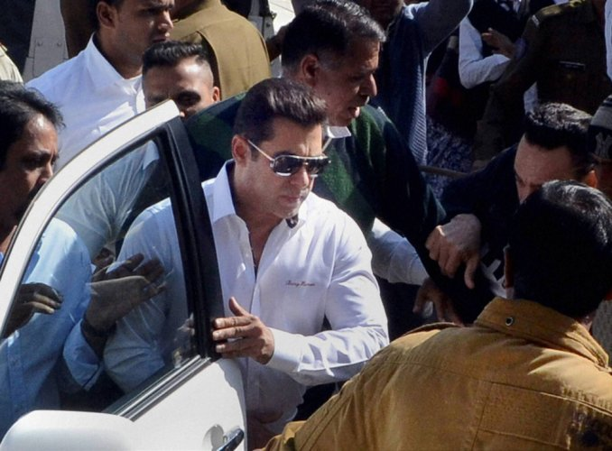 Relief for Salman, acquitted in Arms Act case