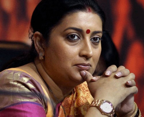 Irani told DU not to reveal her educational qualification: SOL