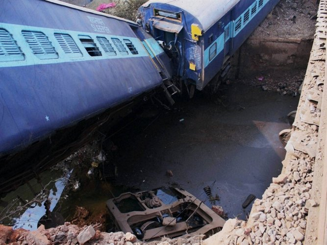 NIA probes claims of ISI role in Kanpur train mishap
