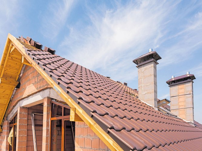 The right roof extension