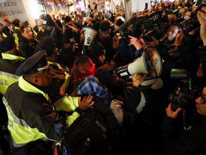 Protesters plan to disrupt Trump's inauguration in Washington