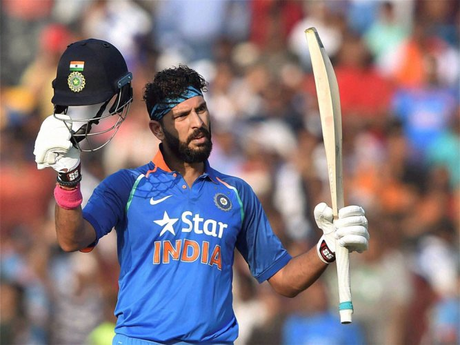 Yuvraj shows he is not done yet