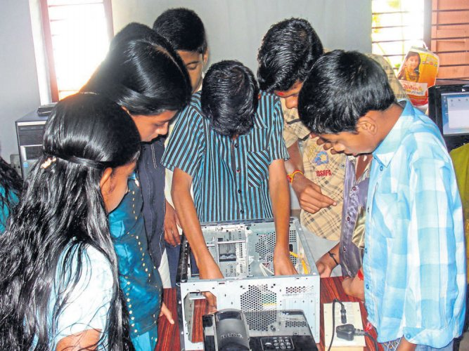 A chance for students to use ICT platforms