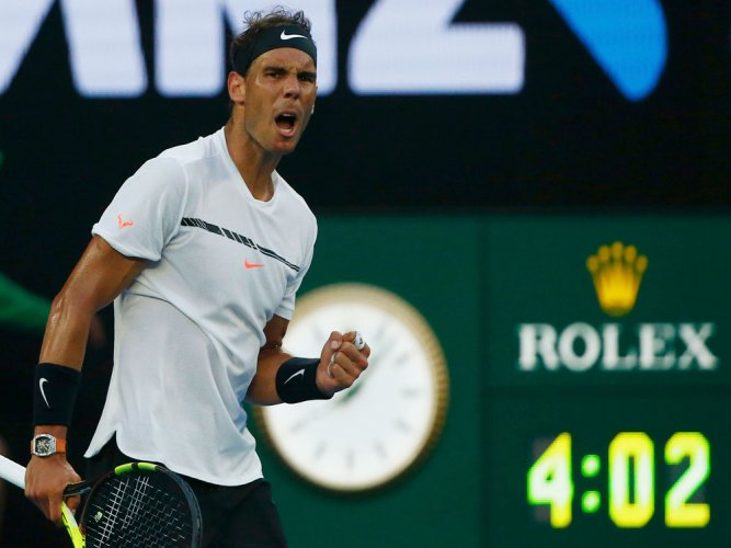 Nadal forced to dig deep