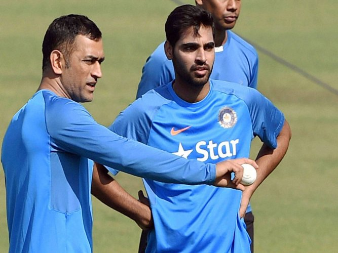 350 is a par score now, says Bhuvi