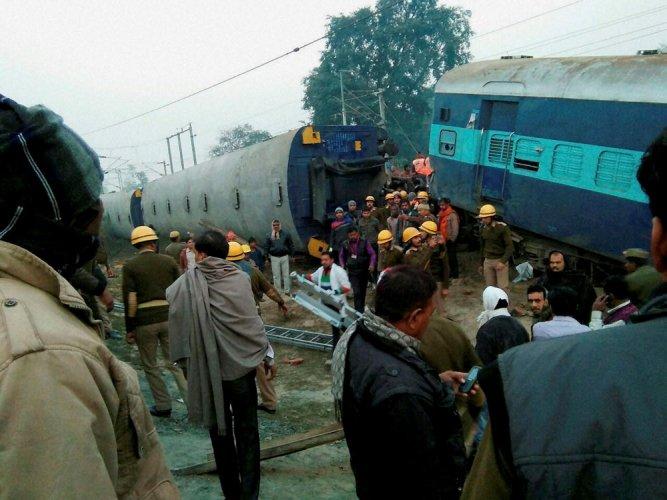 Railways suspect foul play in derailment of Express train