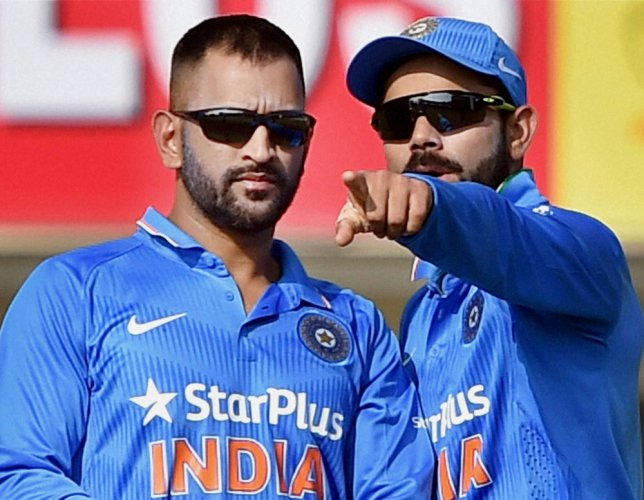 MSD's 'Special' Gift to Kohli: Series winning match ball