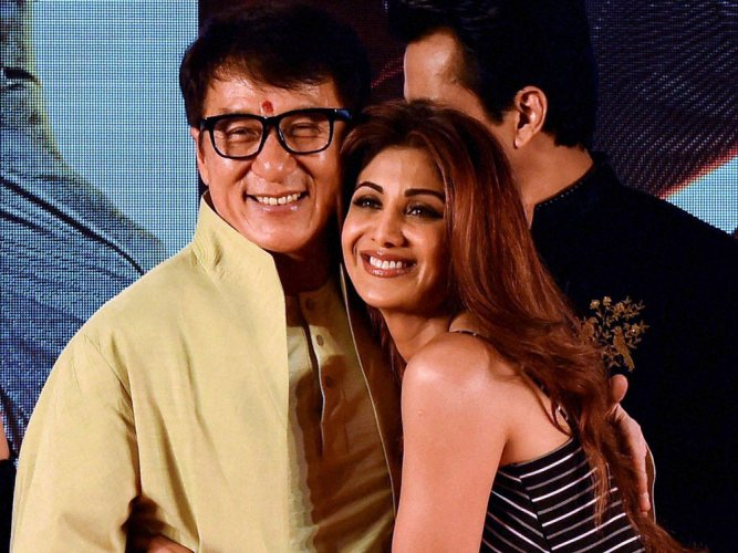 I want to do a Bollywood love story: Jackie Chan