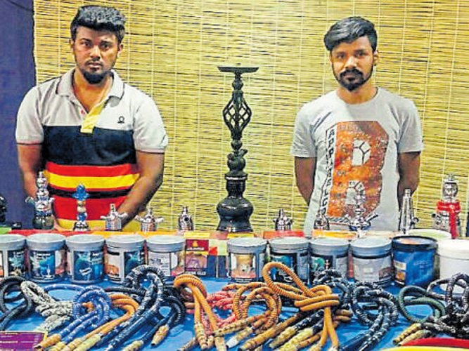CCB raids three illegal hookah bars, arrests 15