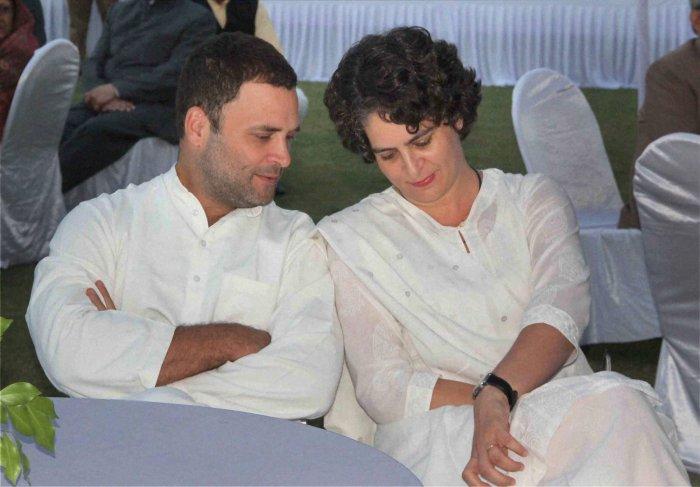 Priyanka negotiated alliance at Rahul's behest, says Congress