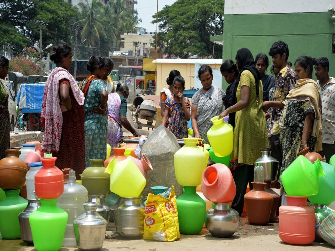 Water crisis likely in summer, govt to tap KRS dead storage