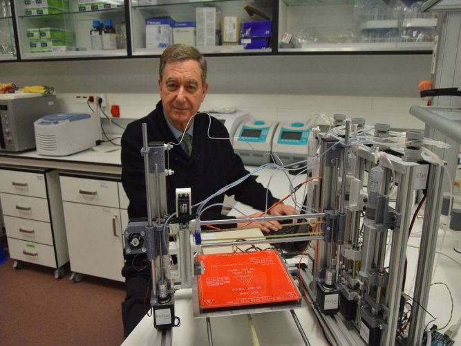 New 3D bioprinter can create functional human skin