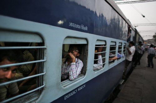 Woman 'thrown out' of running train in Bengal