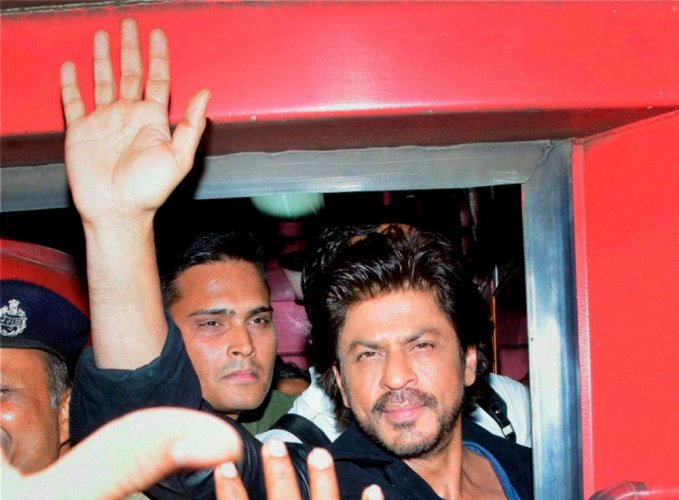 BJP leader has a field day; attacks Rahul, SRK