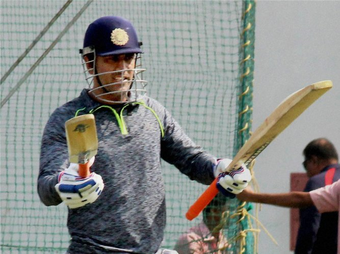 MSD's batting drill at death: Steer Bumrah's wide yorkers