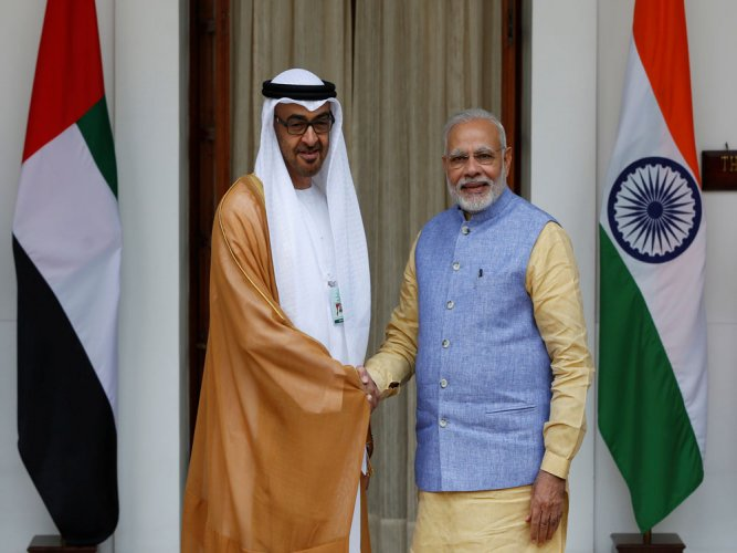 India, UAE ink defence, security pacts