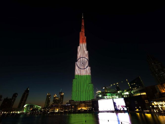 Burj Khalifa to be lit up in tri-colour to mark India's R-Day