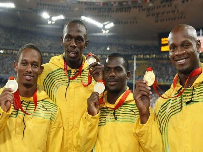 Bolt loses relay gold after Jamaica's Carter tests positive