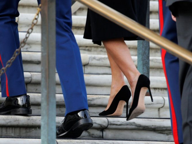 UK MPs want law to prevent women being forced to wear heels